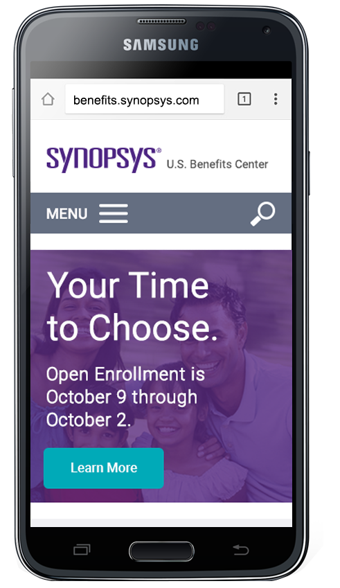 Mobile Apps | Synopsys Benefits Center